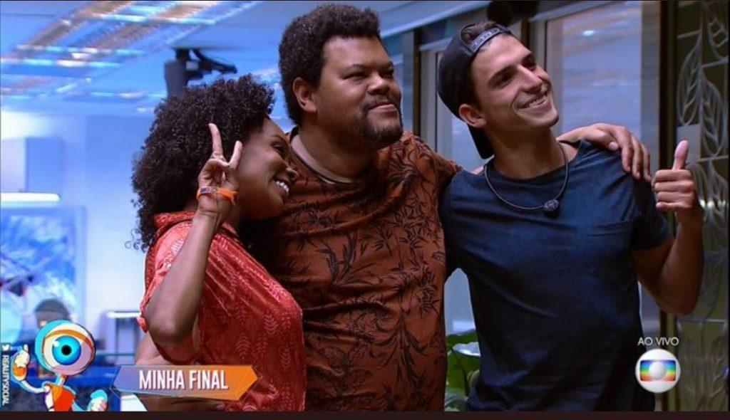 Babu escolhe Thelma e Prior para final do BBB