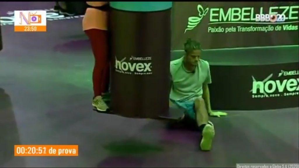 Daniel está no paredão após deixar prova do líder