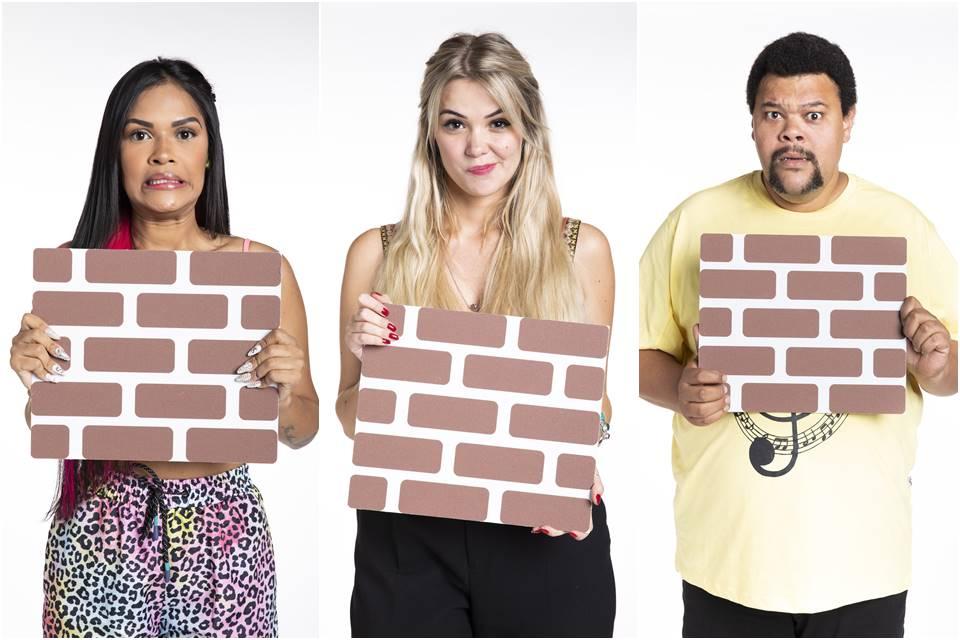 Flay, Babu e Marcela estão no paredão do BBB20
