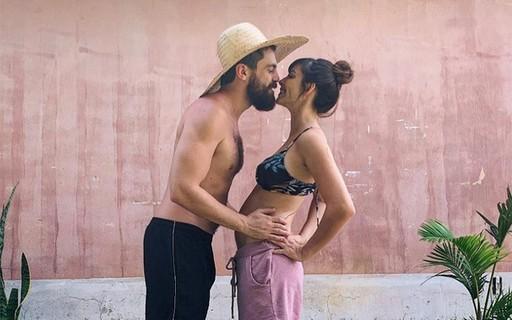 Titi Müller está grávida do primeiro filho