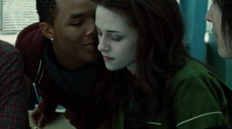 Gregory com Kristen Stewart no filme