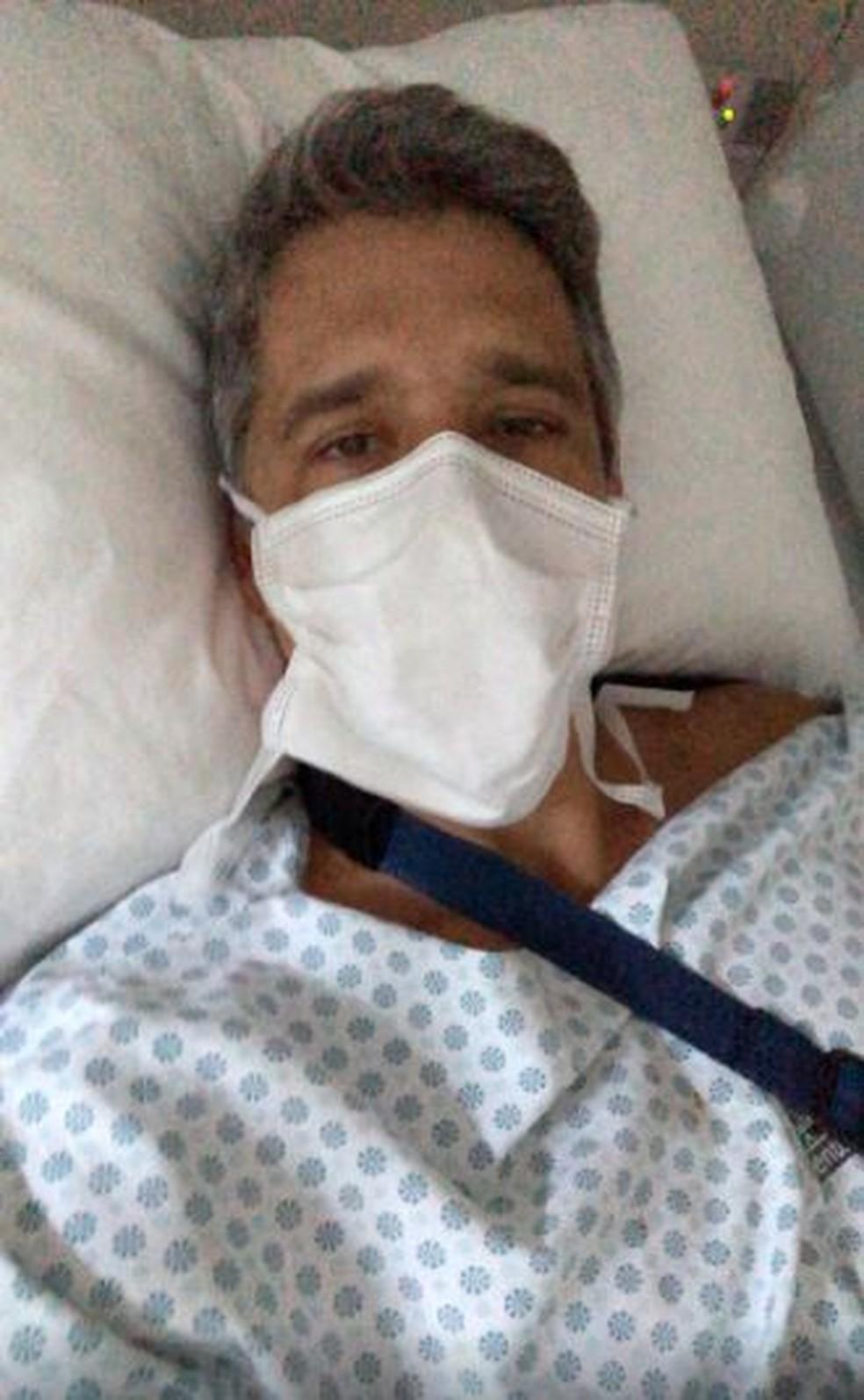 Márcio Garcia passa por cirurgia de emergência