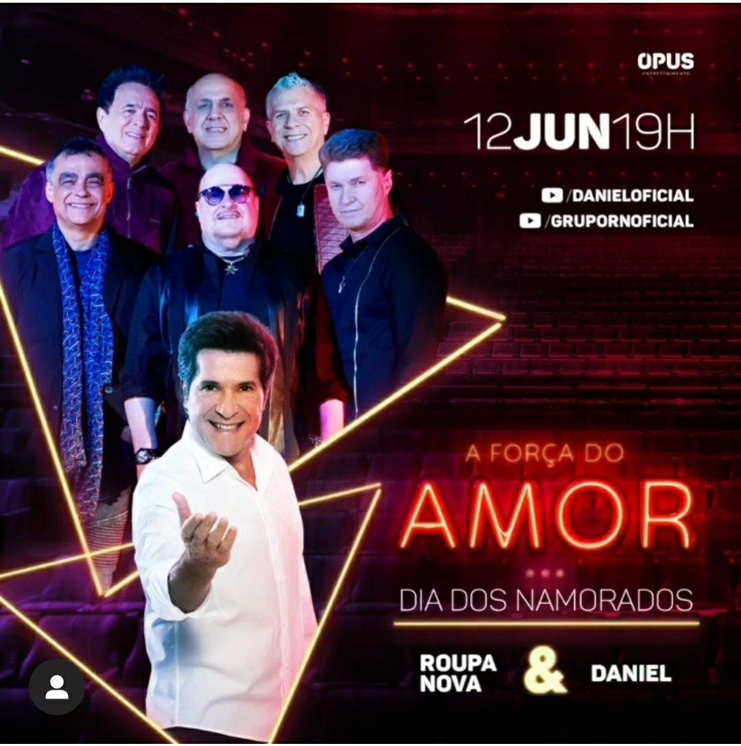 Live Daniel + Roupa Nova - FAMOSANDO